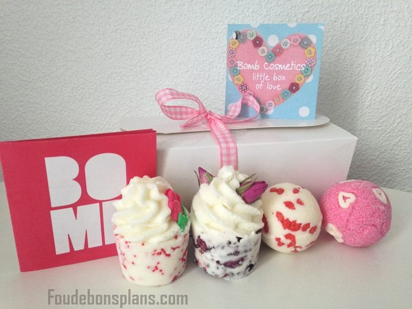 Little Box of Love de Bomb Cosmetics