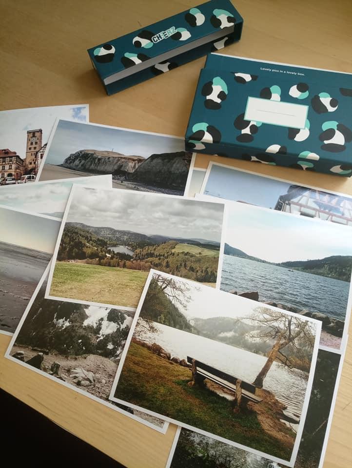 Incroyable Mon avis sur la Cheerz Box : boite à photos souvenirs LP-35