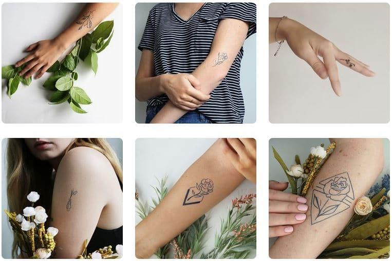 Inkbox Le Tatouage Ephemere Qui Dure 15 Jours
